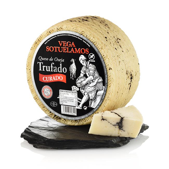 Vegasotuelamos queso de oveja trufado
