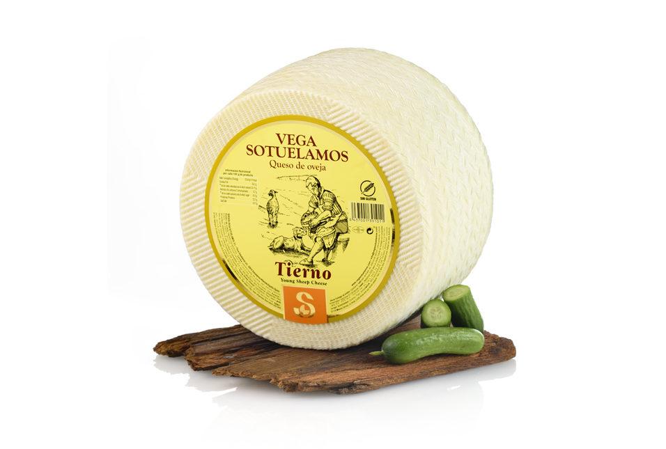 queso oveja tierna en corteza natural