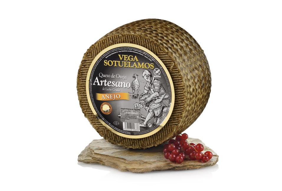 Vegasotuelamos queso oveja artesano leche cruda anejo 5o6