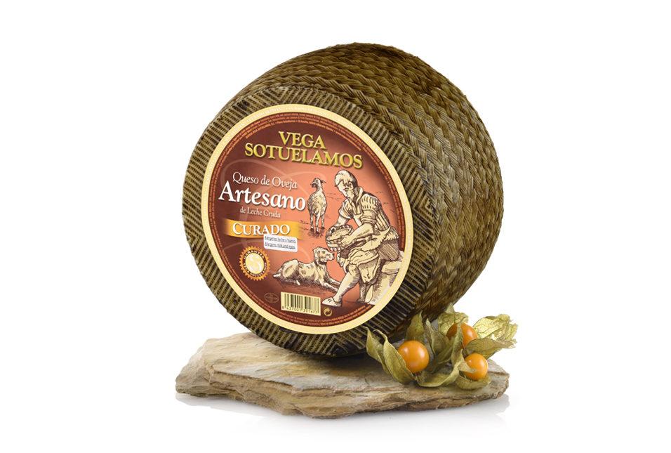 vegasotuelamos queso oveja artesano leche cruda curado 5-6meses
