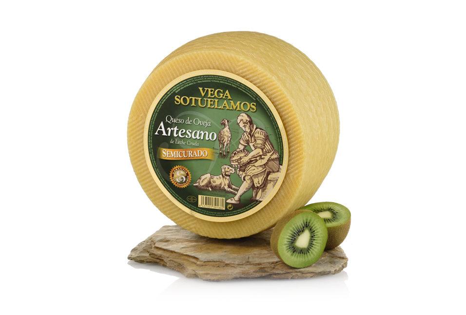 vegasotuelamos queso oveja-artesano-leche-cruda semicurado 5-6 meses