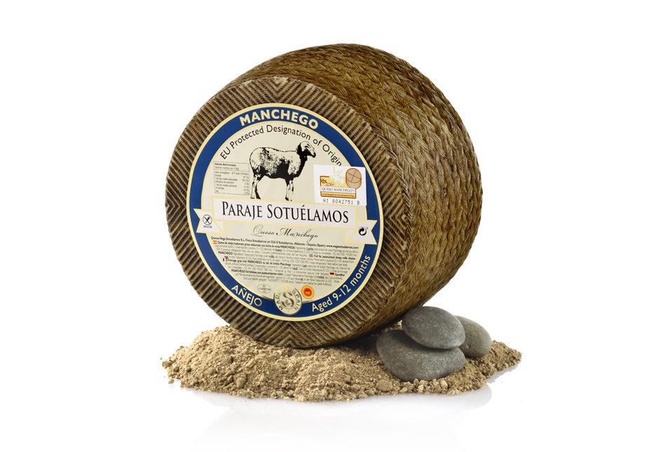 Vegasotuelamos queso oveja manchega 9-12 meses