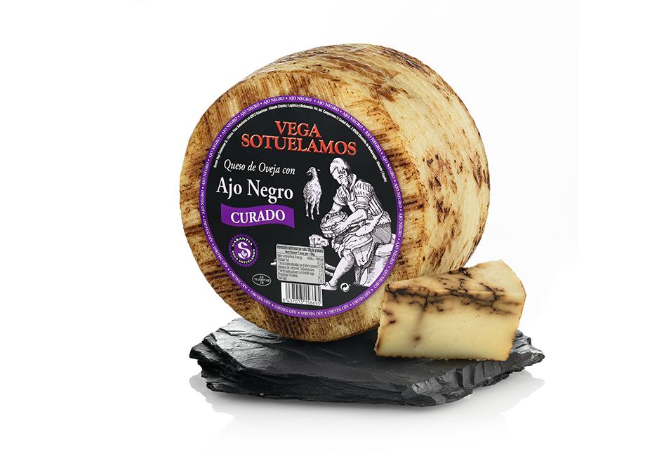 Vegasotuelamos queso con ajo negro